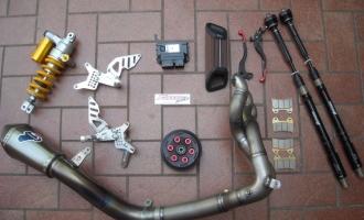 Kit preparazione Mv Agusta F3