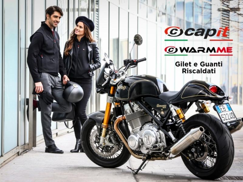 Gilet e Guanti riscaldati disponibili presso Fabbris Moto