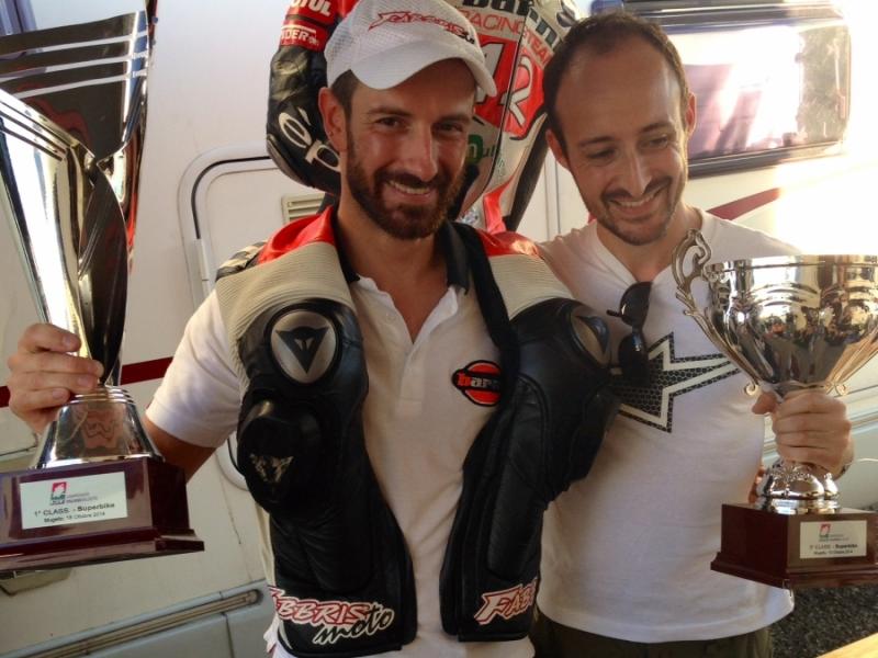 Ivan Goi tre volte campione Italiano con Fabbris Moto
